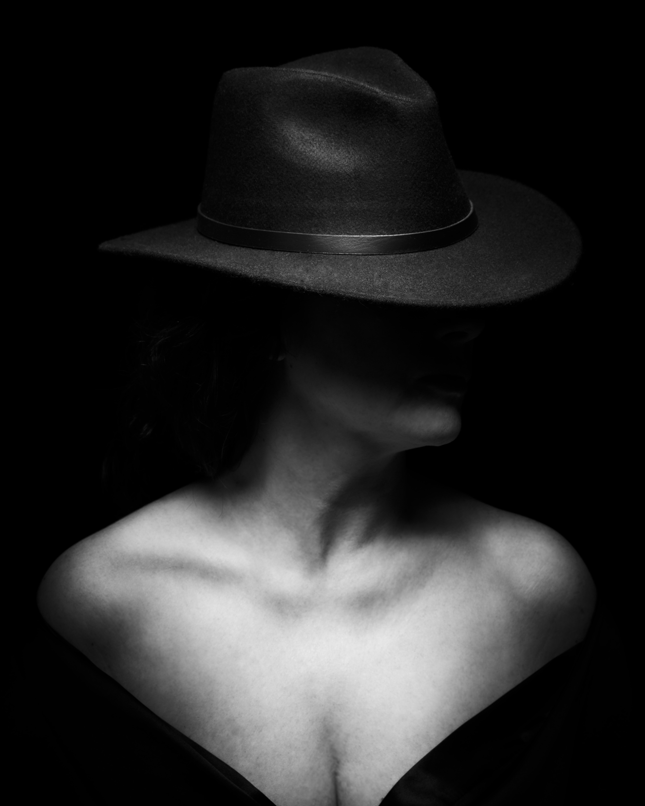 Lady with Fedora